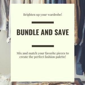 🌞BUNDLE AND SAVE!🎉